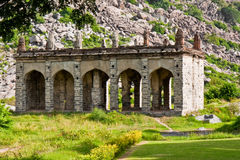 Elephant Stables. At Gingee Fort in Tamil Nadu, India Stock Photography