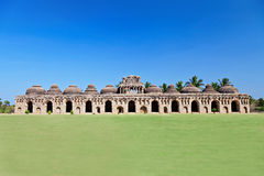 Elephant Stables, Hampi Stock Photography