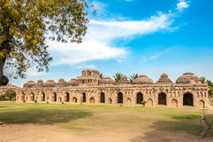 Elephant Stables in Hampi Stock Images