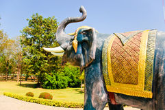 Elephant statue Stock Photography