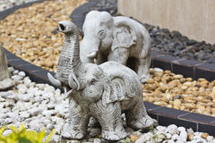 Elephant statue Stock Image