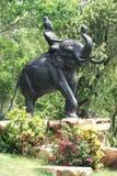 Elephant statue in Ancient Siam, Bangkok, Thailand, Asia Stock Photo