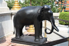 Elephant statue at the Grand Palace Royalty Free Stock Photography