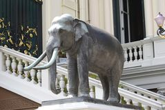 Elephant statue at The Grand Palace in Thailand Royalty Free Stock Photo