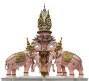 Elephant Statue Near Wat Phra Kaew Royalty Free Stock Images