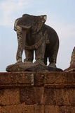 Elephant statue of Pre Rup Stock Photo