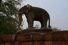 Elephant statue of Pre Rup Stock Photography