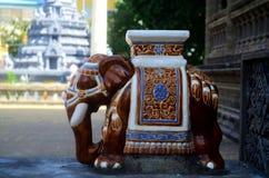 Elephant statue in Phnom Penh Cambodia. Royalty Free Stock Image
