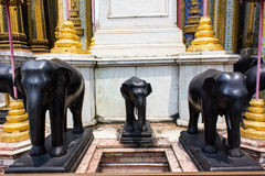 Elephant Statue 3. Royalty Free Stock Photo
