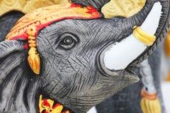 Elephant statue, Thailand. Stock Photos