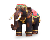 Elephant statue Stock Images
