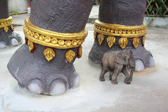 Elephant statue Royalty Free Stock Photos