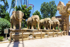 Elephant statues Royalty Free Stock Photography
