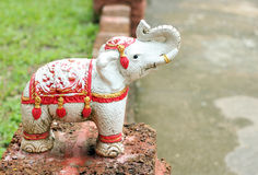 Elephant statues Stock Images