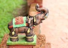 Elephant statues Stock Photo