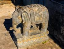 Elephant Stone Statue Beihai Park Beijing China stock images