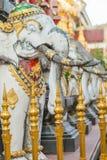 Elephant Stone Statue Royalty Free Stock Image