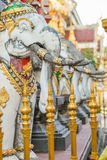 Elephant Stone Statue Stock Photography