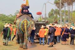 Elephant Sukhothai Royalty Free Stock Image