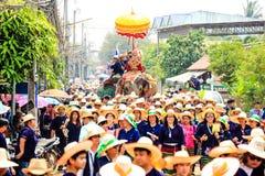 Elephant Sukhothai Stock Images