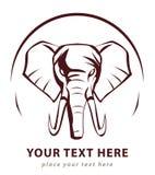 Elephant symbol. Illustrator design .eps 10 Royalty Free Stock Photo