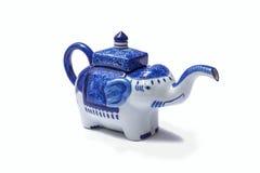 Elephant teapot. Royalty Free Stock Photos