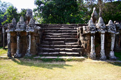 Elephant Terrace,Angkor Stock Photo