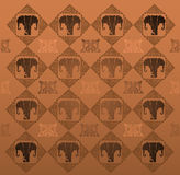 Elephant texture Stock Photos