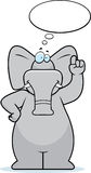 Elephant Thinking Stock Photography