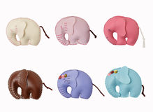 Elephant toy ,accessory isolate Royalty Free Stock Photography