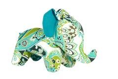 Elephant toy isolated on white Stock Image