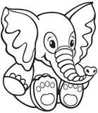 Elephant toy Royalty Free Stock Images