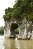 Elephant Trunk Hill in Guilin Stock Photography