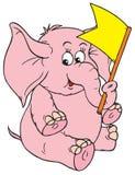 Elephant (vector clip-art) Royalty Free Stock Image