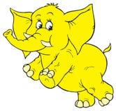 Elephant (vector clip-art) Stock Image