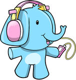 Elephant Vector Illustration Royalty Free Stock Photo