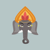 Elephant vector illustration. Royalty Free Stock Images