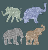 Elephant vector Royalty Free Stock Photo