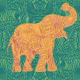 Elephant vector Stock Photography