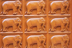 Elephant wall Stock Photos
