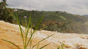 Elephant Waterfall. Dalat. Vietnam. stock video footage
