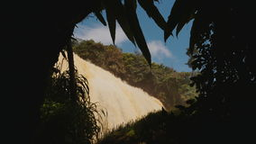 Elephant Waterfall. Dalat. Vietnam. stock video