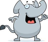 Elephant Waving Stock Photos