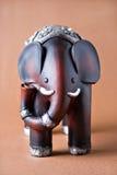 Elephant wood toy Royalty Free Stock Photo