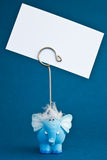 Elephant2 azul Imagem de Stock Royalty Free