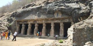Elephanta caves stock photography