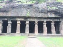 Elephanta caves royalty free stock photos