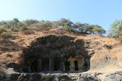 Elephanta caves, Mumbai Royalty Free Stock Photos