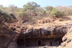 Elephanta caves, Mumbai Stock Photos