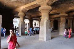 Elephanta caves, Mumbai Stock Photography